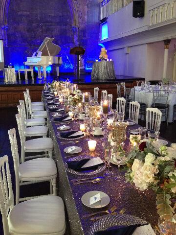Berkeley Church Toronto Wedding White Grand Piano