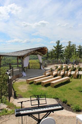 Le Belvedere Outdoor Wedding Ceremony Music