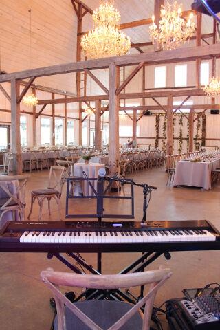 Stonefields Estate Loft Wedding Reception Music