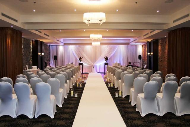 Hotel Nelligan Montreal Wedding Ceremony