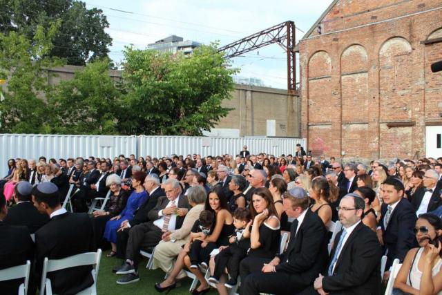 New City Gas Montreal Wedding Ceremony